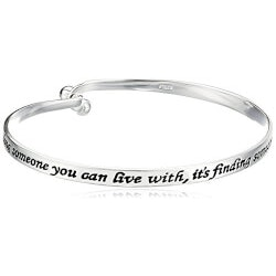 Love Catch Bangle Bracelet