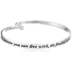 Jewelry Anniversary Gifts:Love Catch Bangle Bracelet