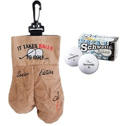Unusual Gifts for Dad (Under $25):Golf Ball Sack