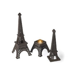 Unique Birthday Gifts for Mom:Eiffel Tower Tea Light Holder