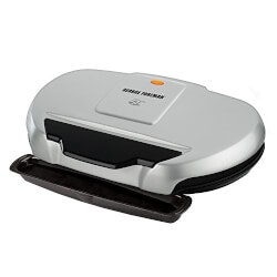 Christmas Gifts for Mom Under $50:Family-Size George Foreman Grill