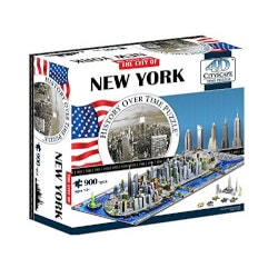 Unique Valentines Day Gifts for Teens:City Skyline Time Puzzle
