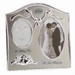 25th Silver Anniversary Frame