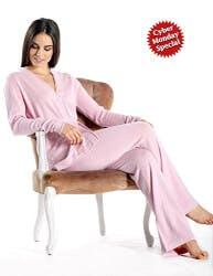 Pure Cashmere Pajama Set