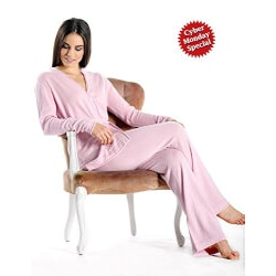 Christmas Gifts for Women Over $200:Pure Cashmere Pajama Set