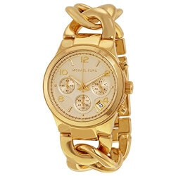 Anniversary Gifts Under $200:Michael Kors Chain Link Watch
