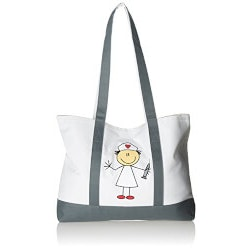 Gifts for Women Under $25:Stick Nurse Tote Bag