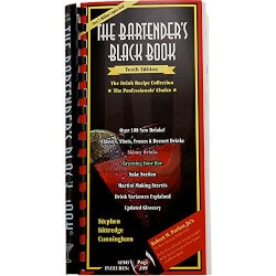 Birthday Gifts for Husband Under $25:Bartenders Black Book