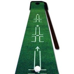 Birthday Gifts for Boyfriend Under $50:Ball Returning Pro Putting Mat