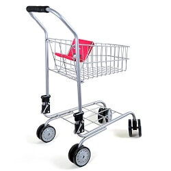 Christmas Gifts for Kids Under $50:Pretend Play Shopping Cart