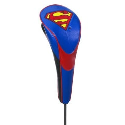 Golf Christmas Gifts for Coworkers:Golf Superman Head Cover