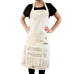 Christmas Gifts for Women Under $25:Apron With Cooking Guide