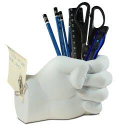 Desktop Hand Pen Holder