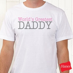 Personalized Father Daughter T-Shirts - Daddy