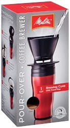 Single Cup Brewer With Travel Mug