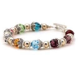 Jewelry Birthday Gifts:Mothers Grandmother Brag Bracelet