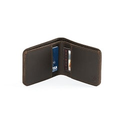Bi-Fold Wallet With 100 Year Warranty