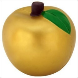 Golden Apple Stress Ball