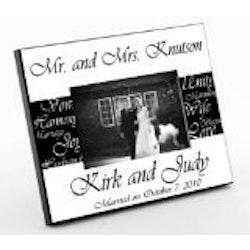 Wedding Gifts Under $50:Mr. & Mrs. Wedding Frame