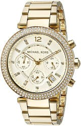 Michael Kors Womens Parker Gold Watch
