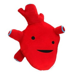 Gifts for Women Under $25:Humongous Heart Plush Figure