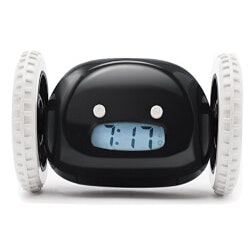 Unusual Gifts for Son:Clocky Alarm Clock On Wheels