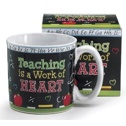 Gifts for Women:Teaching Is A Work Of Heart