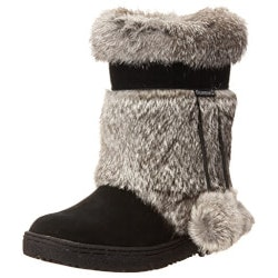 Gifts for Wife:BEARPAW Womens Mid-Calf Boot