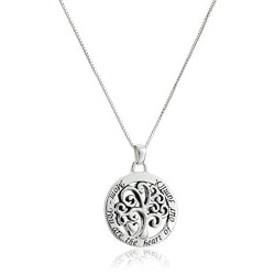Jewelry Birthday Gifts for Grandmother (Under $50):Mom You Are The Heart Of Our Family