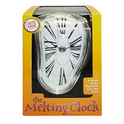Unusual Gifts for Mom:Melting Clock