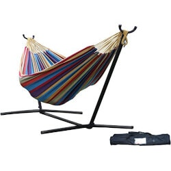 7th Anniversary Gifts for Boys:Hammock For Two (With Stand & Carrying Case)
