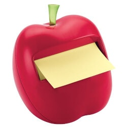 Gifts for Women:Apple Post-It Notes Dispenser