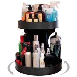 5th Anniversary Gifts for Teenage Girls:Spinning Cosmetic Organizer