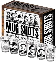 Mug Shots (Shot Glasses With Famous Gangsters)