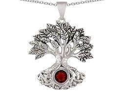 Tree Of Life Good Luck Pendant