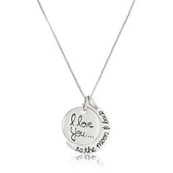 Jewelry Anniversary Gifts:Love You To The Moon & Back (Necklace)