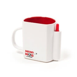 Unusual Graduation Gifts:Dry Wipe Memo Mug