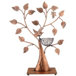 Jewelry Birthday Gifts for Girlfriend (Under $50):Jewelry Tree W/ Bird Nest
