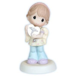 Gifts Under $200:Nurse With Heart Figurine