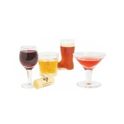 Birthday Gifts for Boyfriend Under $50:Mini Cocktails Shot Glasses