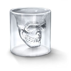Gardening Gifts:Doomed Crystal Skull Shotglass