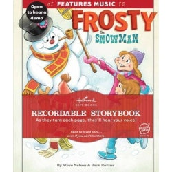 Unique Christmas Gifts for Kids:Recordable Storybook