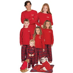 Gifts for Wife Under $50:Classic Plaid Matching Family Pajamas