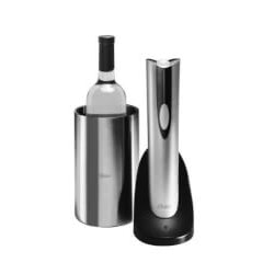 Gadget Gifts for Father In Law (Under $50):Cordless Wine Opener With Chiller