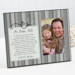 Personalized Picture Frames - Doctor Daddy