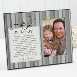 Gifts for Doctors:Personalized Picture Frames - Doctor Daddy