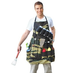 Funny Gifts for Brother:Grill Sergeant BBQ Apron