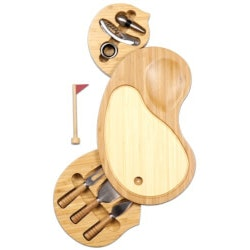 Christmas Gifts for Couples:Golf Cheese Board And Tool Set