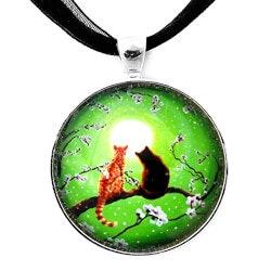 Jewelry Anniversary Gifts:Handmade Jewelry Art Pendant