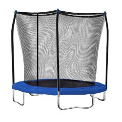 Outdoor Birthday Gifts:8-Feet Trampoline With Safety Enclosure